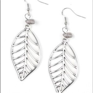 Jewelry - BOUGH Out - Silver Leaf Earrings Jewelry